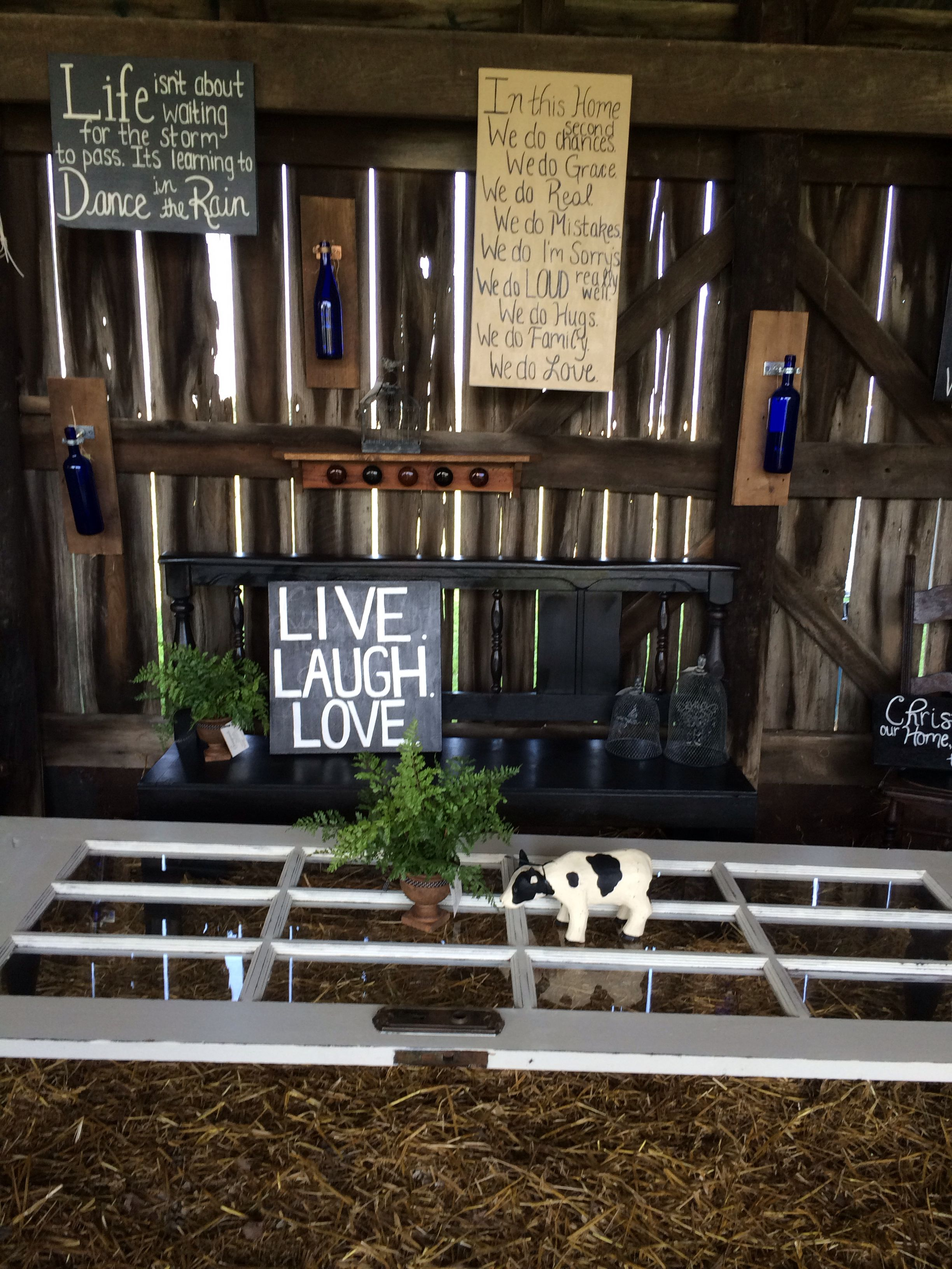 Repurposed furniture at Chandelier Barn Market! Davies county Indiana. Find em on fb! Date set for sept 2015... Barns full of makers.. Music, food, and creativity all nestled in the heart of the county's Amish community. Awesome turn out this year! You don't wanna miss it next year!