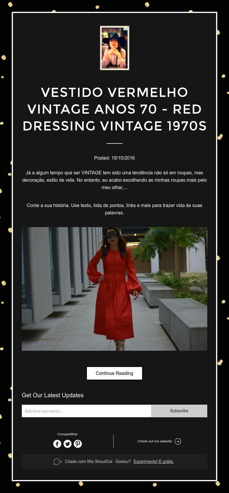 VESTIDO VERMELHO VINTAGE ANOS 70 - RED  DRESSING VINTAGE 1970s