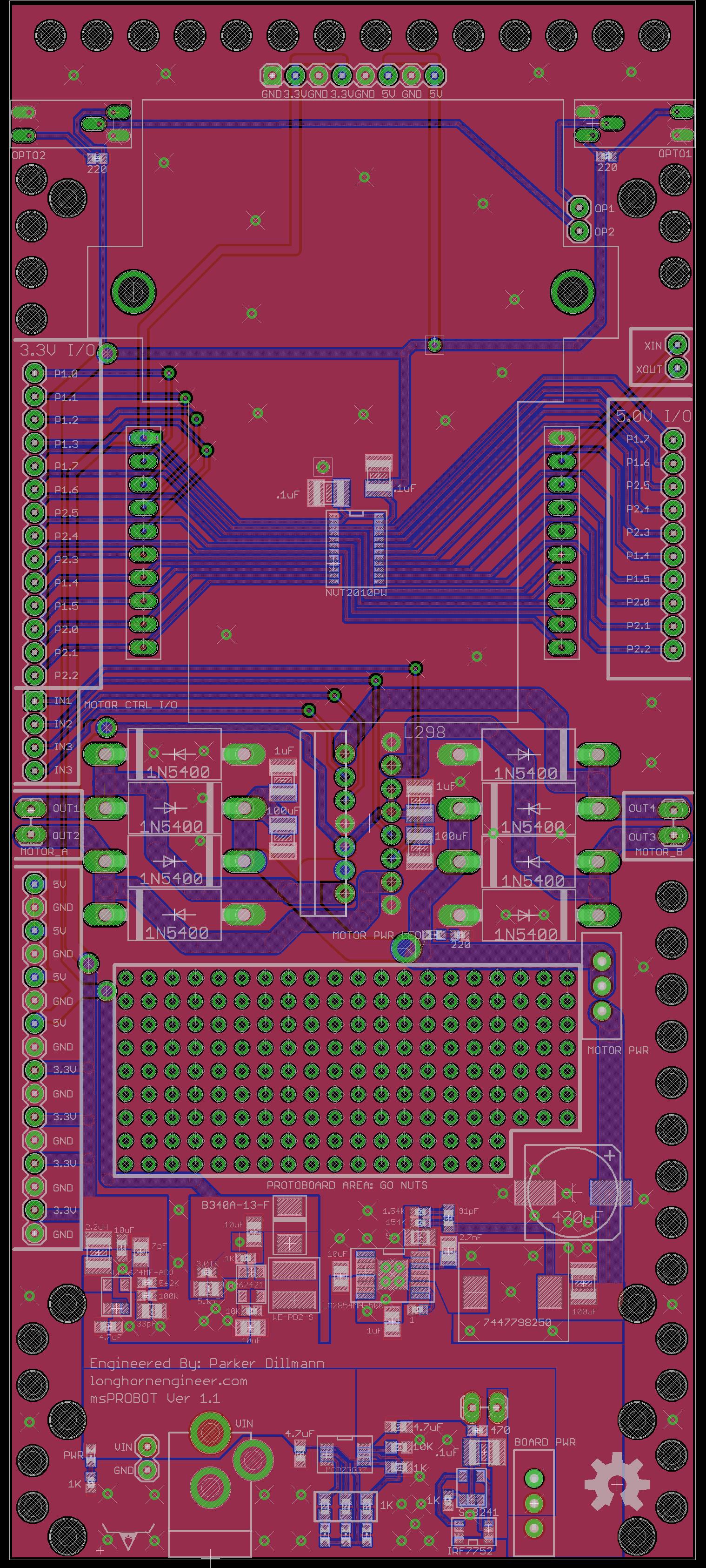 msPROBOT V1 | The Longhorn Engineer