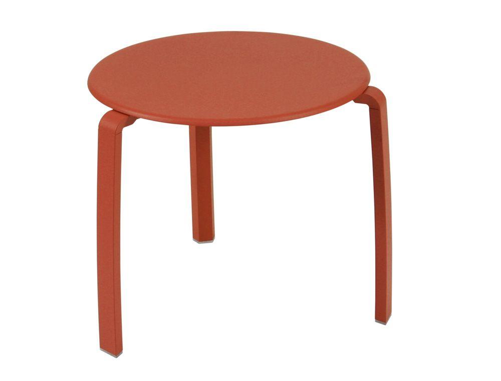 Table basse Alizé, petite table basse jardin en métal ...