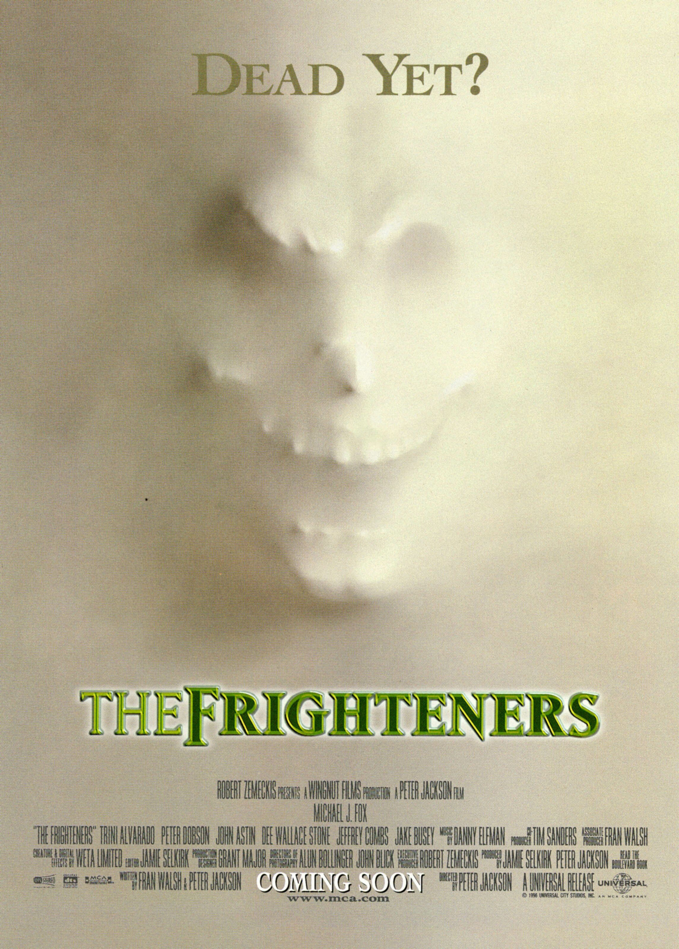 The Frighteners (1996) Timeless classic and one of my