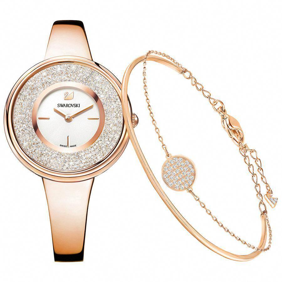 dbc0da8bbfbf Parure Crystalline Pure Or Rose Swarovski  puregoldjewellery
