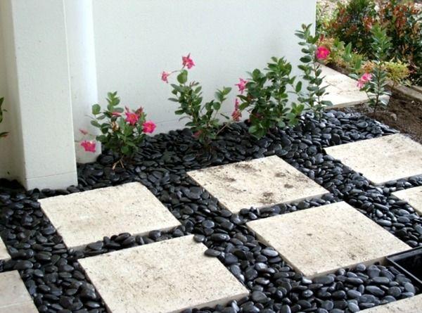 Pierre pour jardin décorer son jardin avec de la pierre