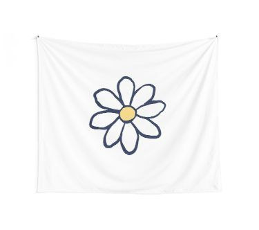 03434c982 life is good daisy Wall Tapestry | Products in 2019 | Tapestry, Wall ...