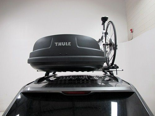 Thule Force Xt Rooftop Cargo Box 22 Cu Ft Black Aeroskin Thule