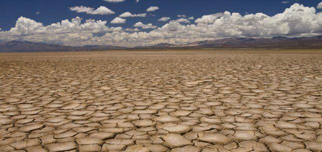 Le désert avance, la « vie » recule