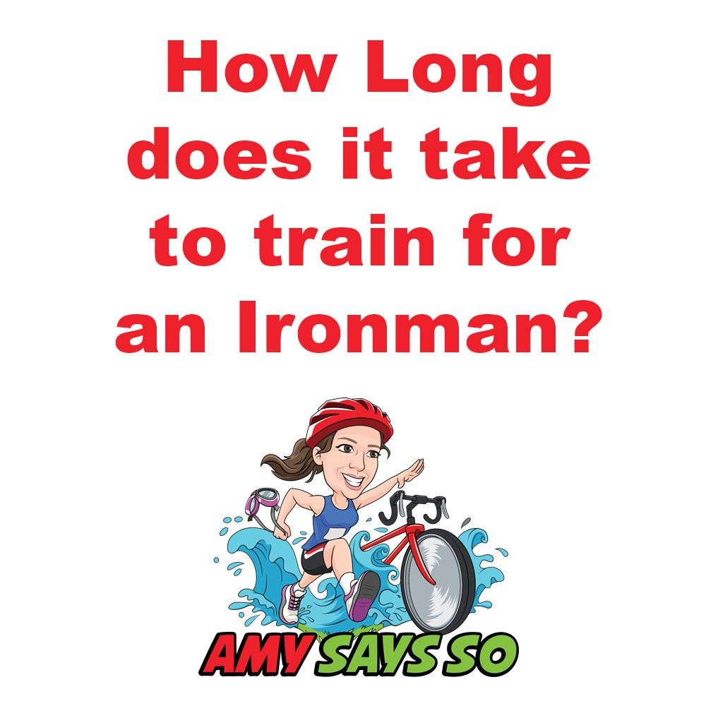 How long does it take to train for an ironman triathlon