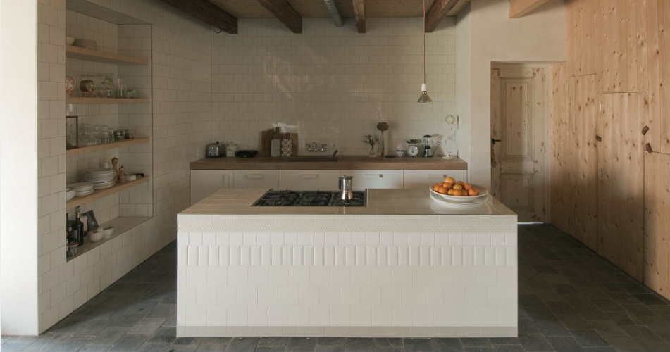 Blissfulb Bliss Ina Matts Barns Gorgeous Kitchens White Tiles Home