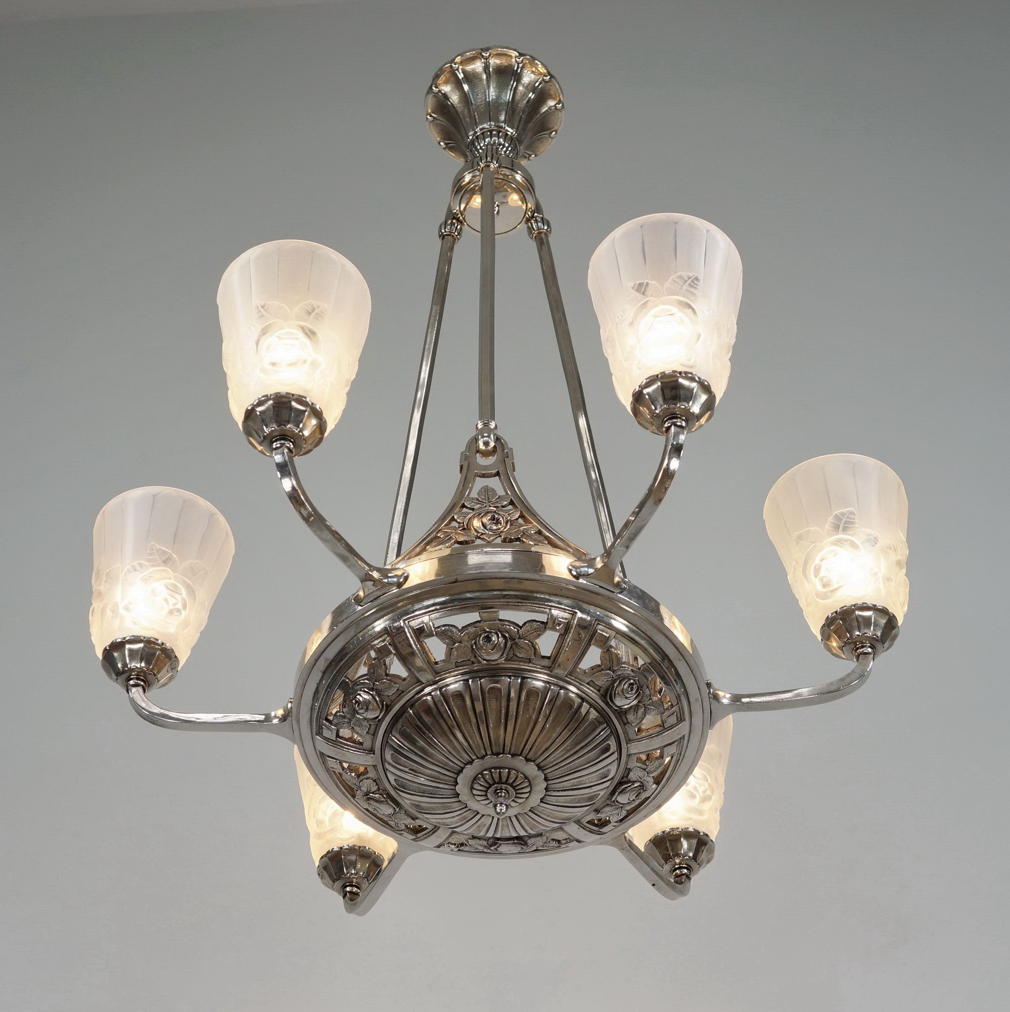 Ebay paravas french art deco chandelier by degu lamparas ebay paravas french art deco chandelier by degu arubaitofo Images