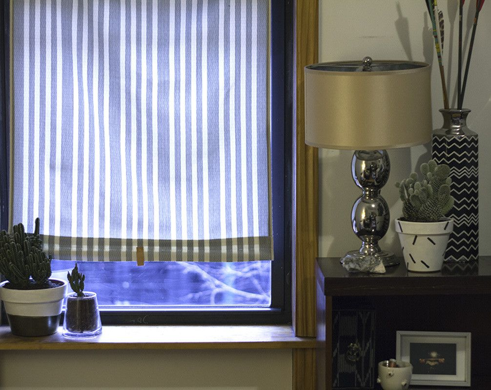 Ikea Hack Custom Roller Shades Window Treatments Ikea
