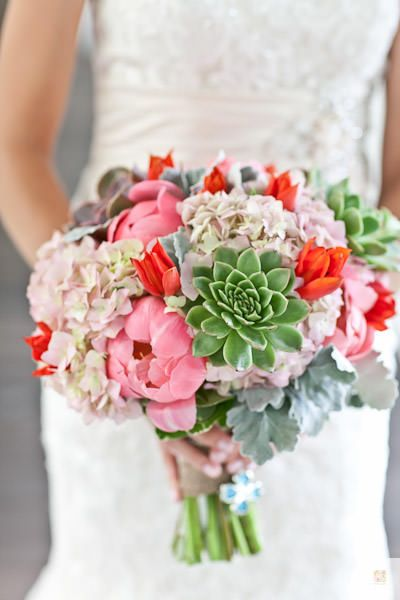 Brandie Clint Key west Wedding planners and Bridal bouquets