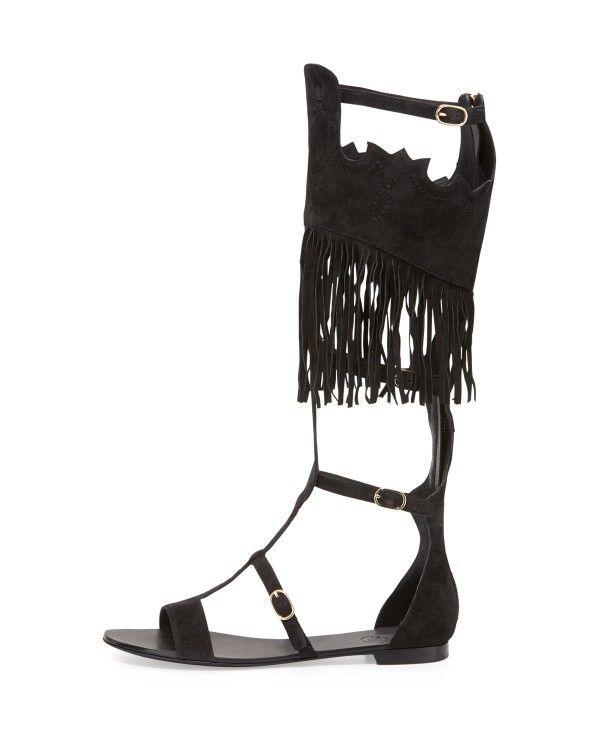 cca607c01c0 Ash - Margot Tall Suede Gladiator Sandal