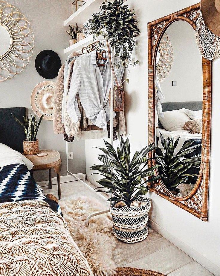 Photo of 43 Smart Bohemian Bedroom Design-Ideen, die Sie ausprobieren müssen