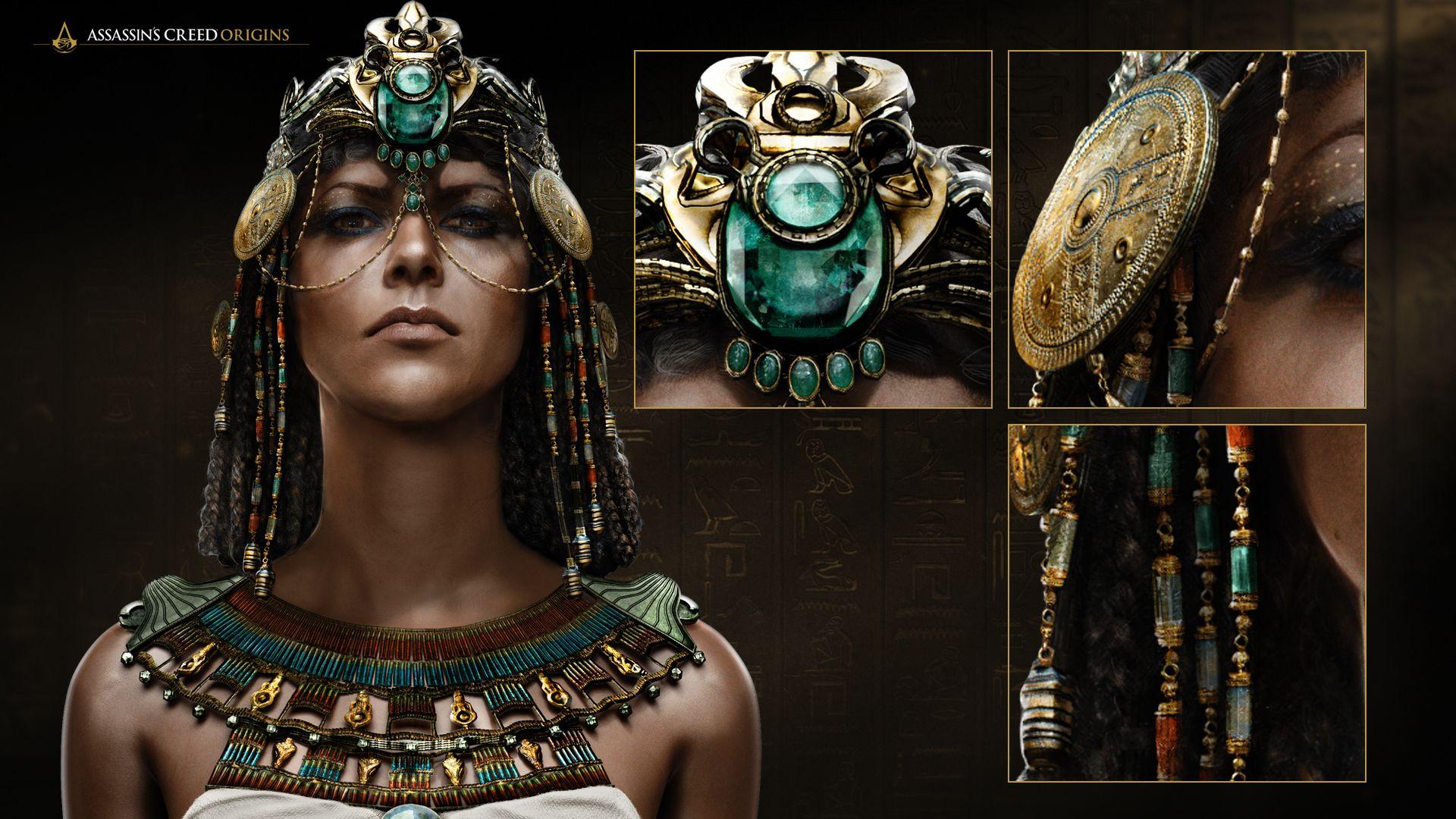 Assassins Creed Origins - Guia de cosplay da Cleópatra