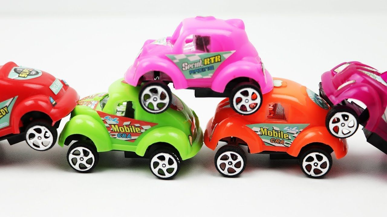 Unboxing u Kids Play Colorful Toy Cars  Kids Learn Colours  Toys