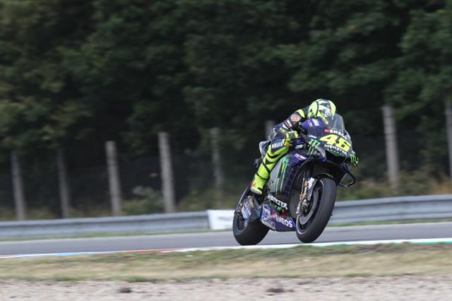Failed Czech Gp Fp2 Engine Was An Old Unit Rossi Yamaha Motogp Motorcycle Racing Czech