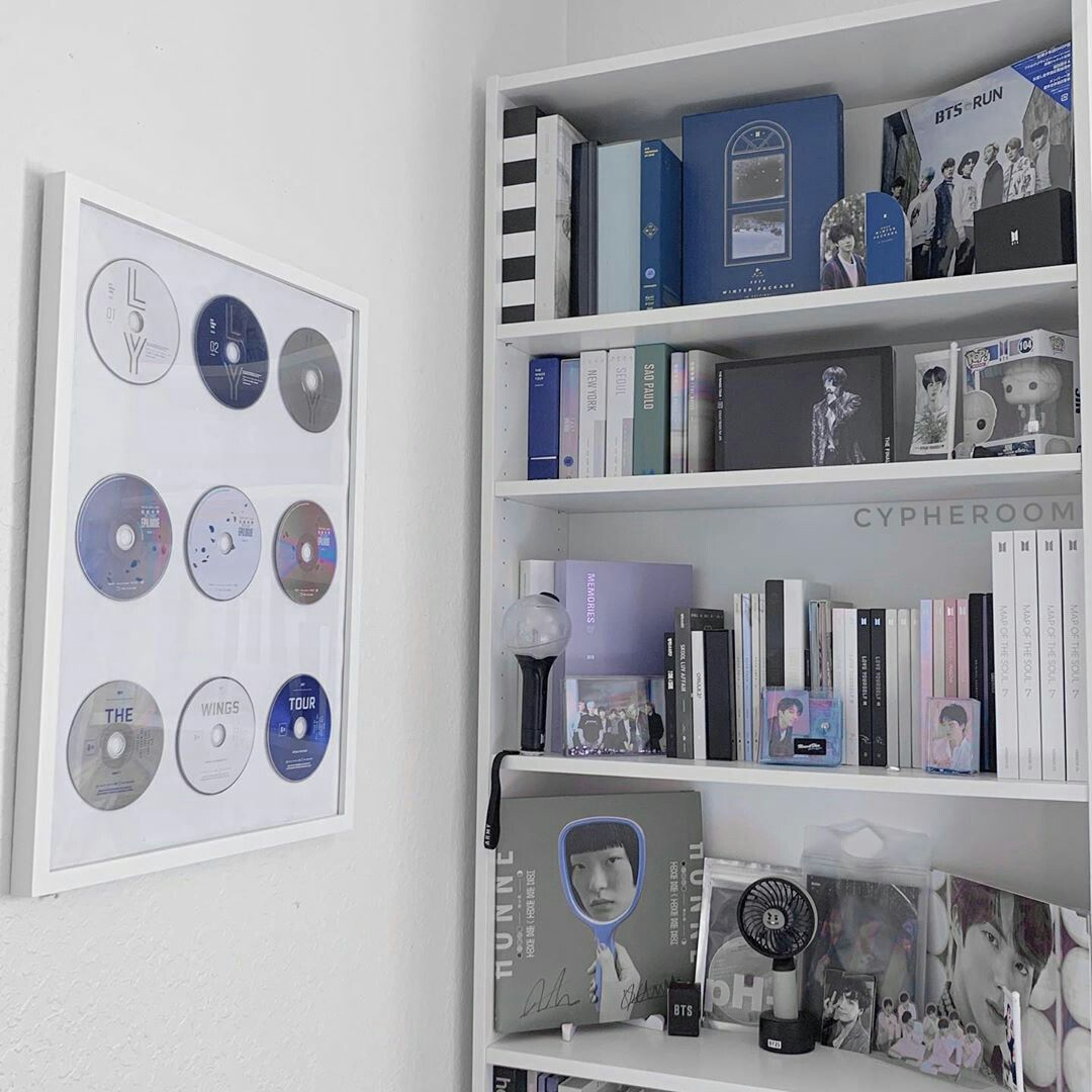 Aesthetic Kpop Army Room Decor Pinterest Room Decor Study Room Decor