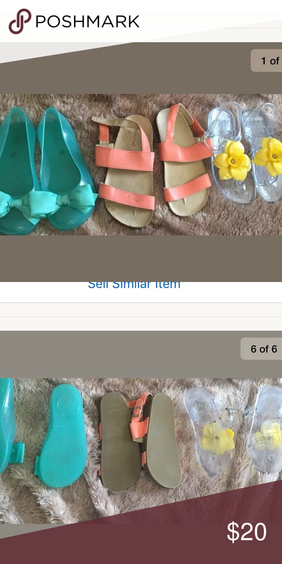 288c59d83705 3 pairs of girls shoes size 10 GAP OLD NAVY Lot of 3 pairs of girls ...
