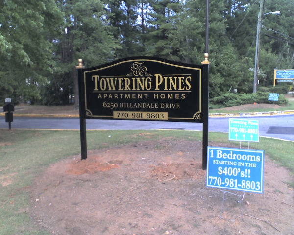 Signs for Subdivision Entrances Stone | Signs Atlanta | Prettying ...