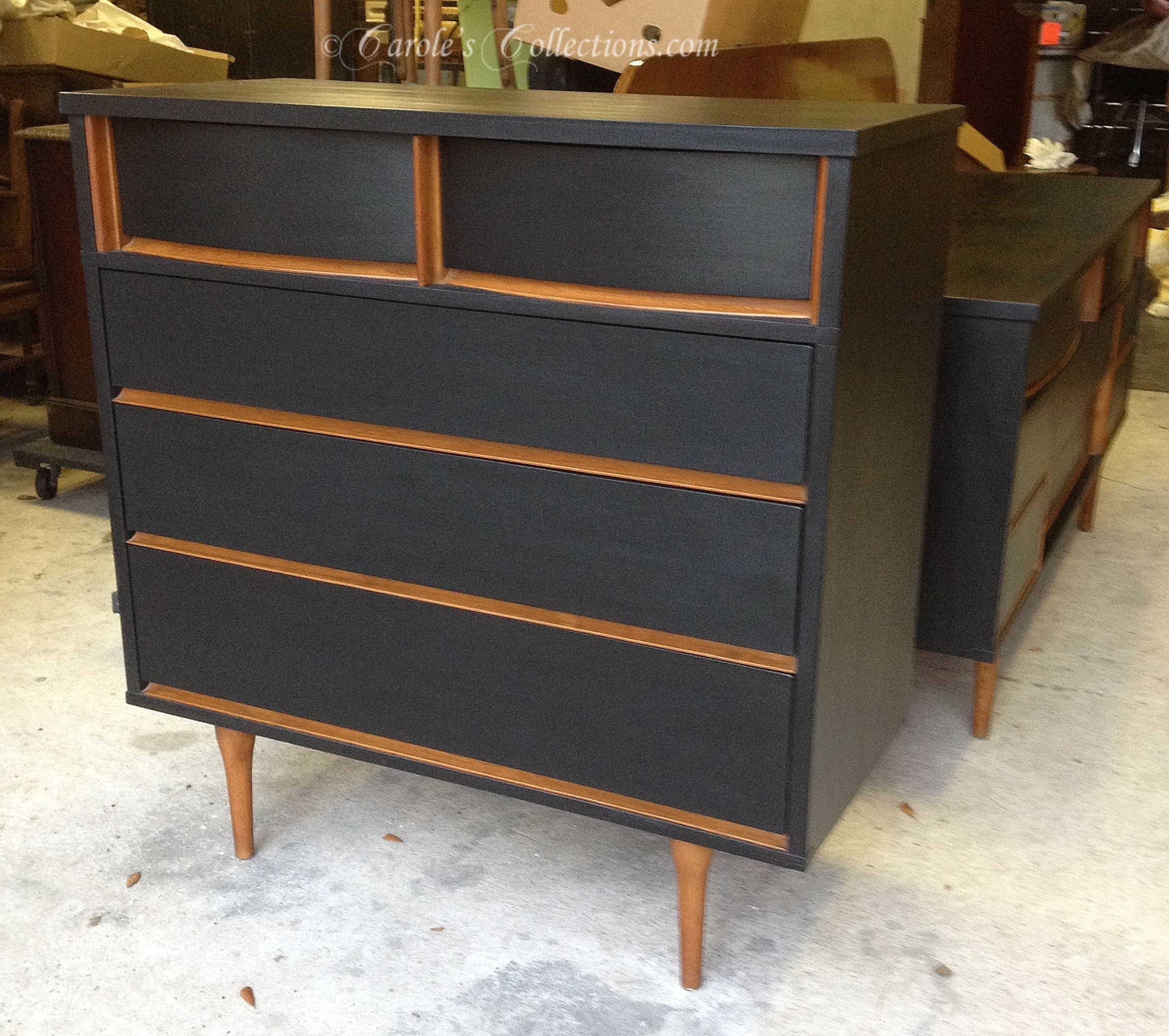 Harmony House Chest Of Drawers Matching Dresser Available Too Carolescollections Midcentury Shabby Paints Shabby Paints Furniture Furniture Makeover