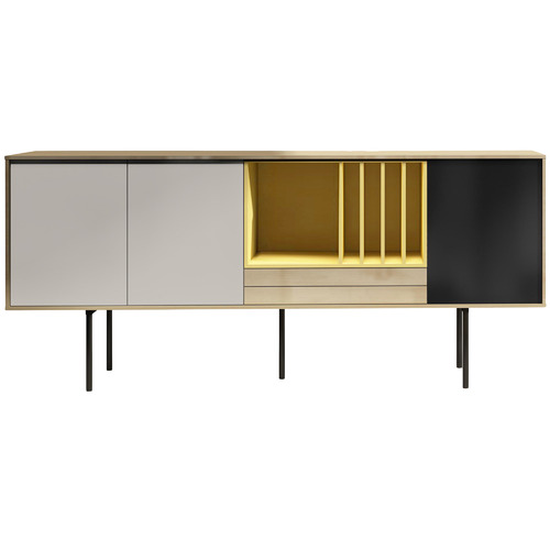Malika Contemporary Wooden Sideboard Wooden Sideboard Sideboard Furniture Global Furniture