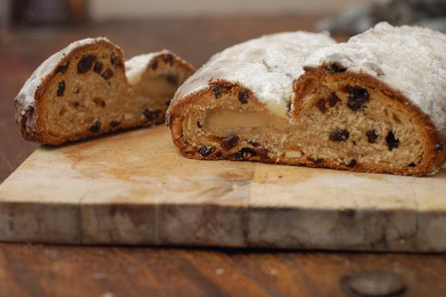 how to eat properly stollen Let\u0027s bake with yeast Pinterest