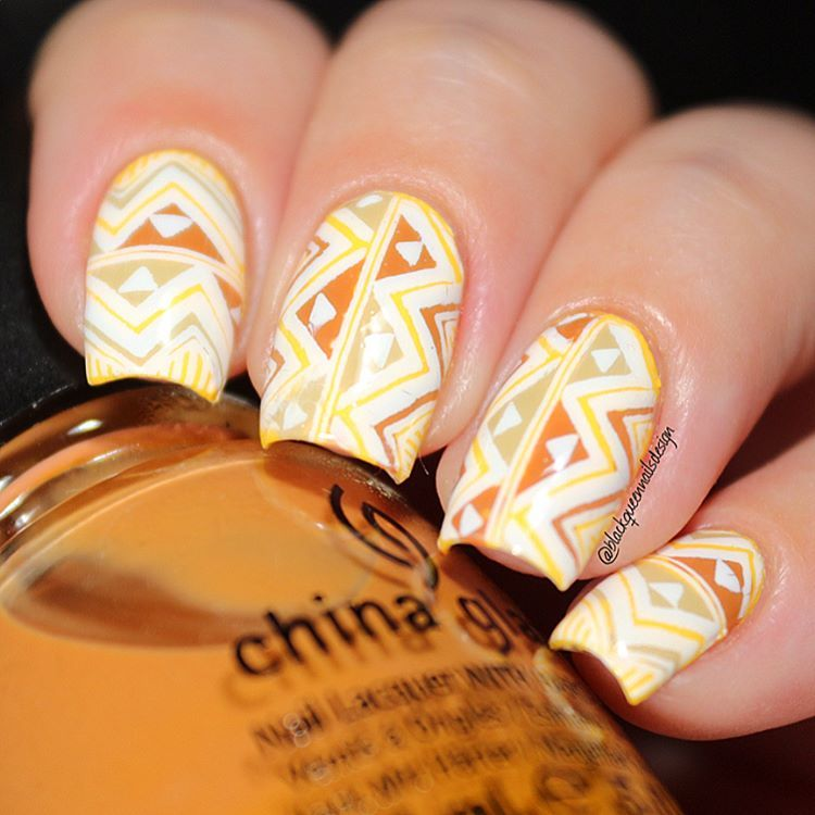 African Nails - Ana✨Nail Art-Tutorial-Swatches ...