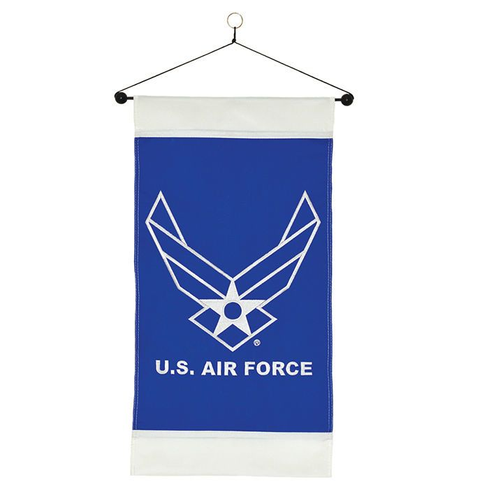Us Air Force Hanging Banner Usaf Wing Indoor Outdoor Military Window Decor Gift Hanging Banner Air Force Flag Shop