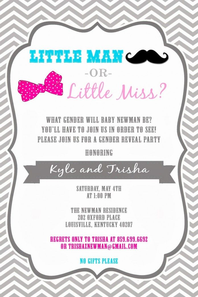 image about Free Printable Gender Reveal Invitations identify free of charge printable gender make clear invites - Google Appear