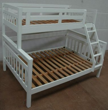 Fort Trio Bunk Single Over Double Bunks Best In Beds Bunk Beds Kids Bunk Beds Diy Bunk Bed Single over double bunk bed