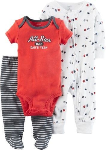 784250be2cd4 Carter s Baby Boys 3-pc. All-Star MVP Layette Set