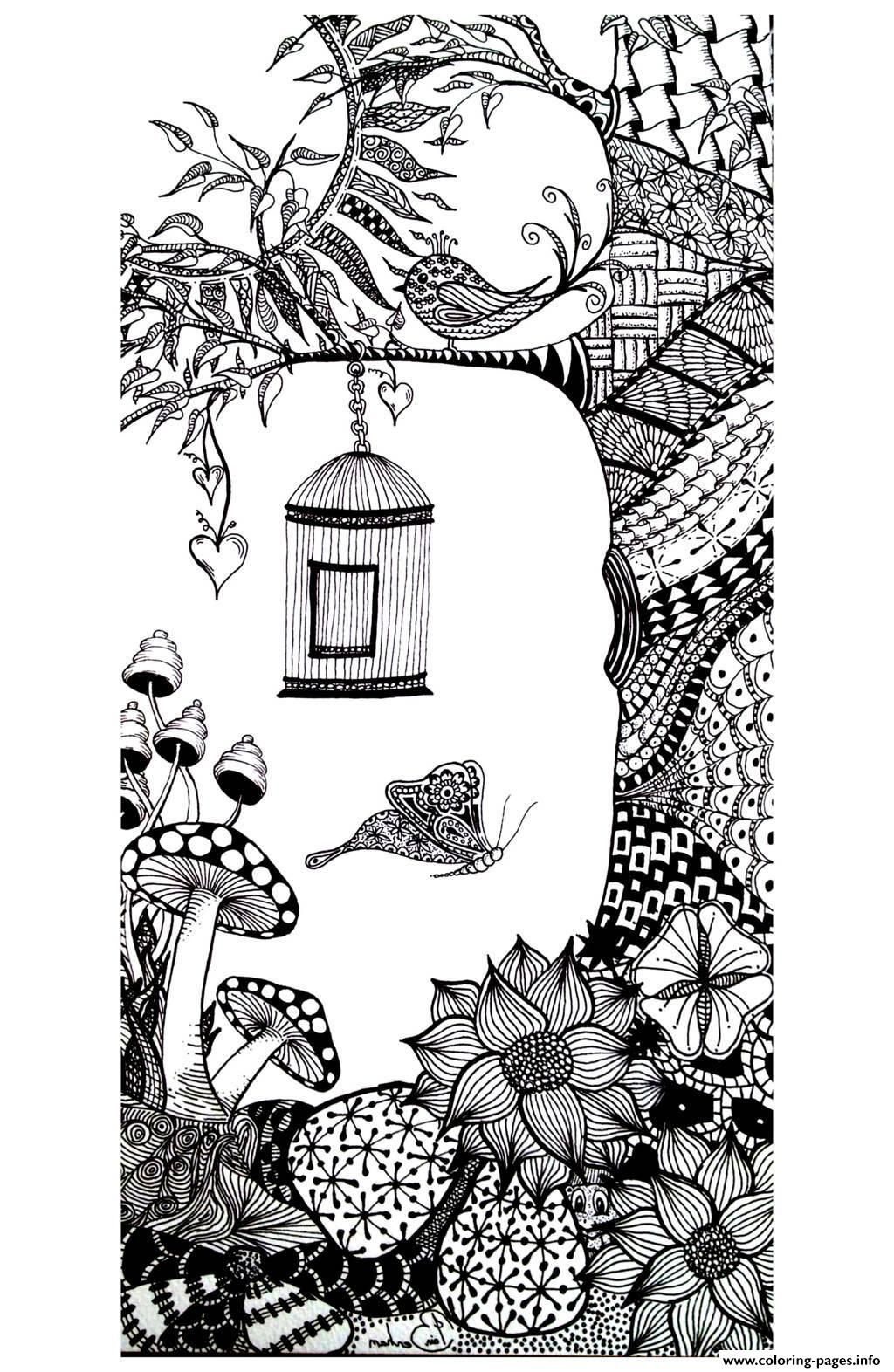 Print adult animals bird butterfly coloring pages | Adults who LOVE ...