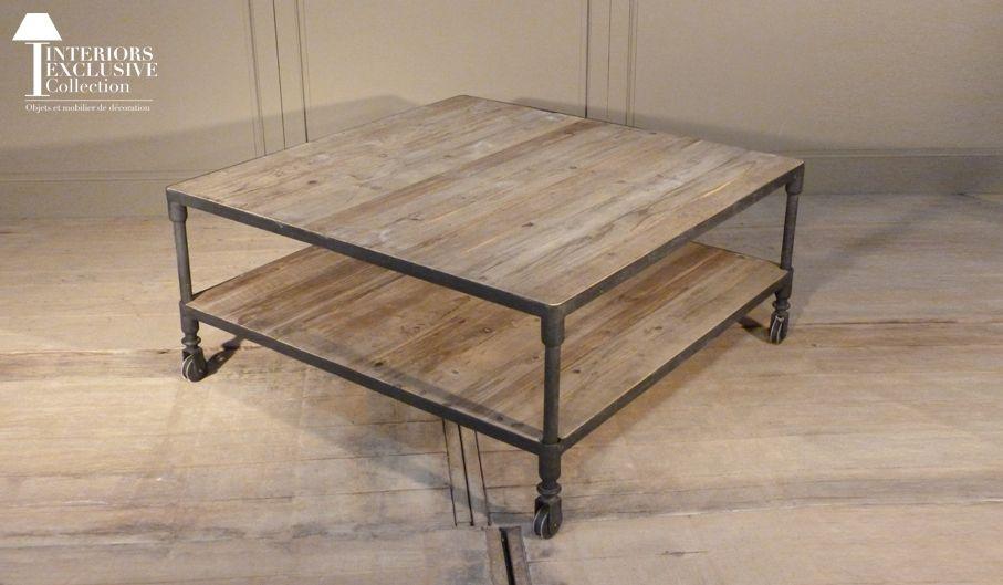 LA TABLE BASSE VIEUX BOIS - Interiors Exclusive Collection   For the ...