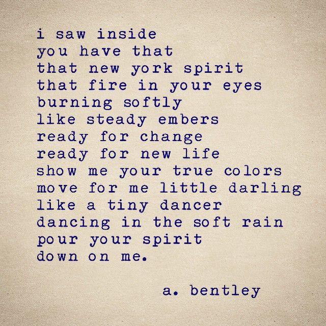 I Call This Poem New York Spirit Poems Poem