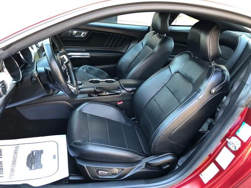 2016 Ford Mustang Ecoboost Premium 2dr Fastback In 2020 Ford