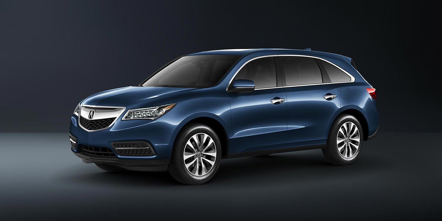 2015 acura mdx with technology package in fathom blue pearl automobile 39 s. Black Bedroom Furniture Sets. Home Design Ideas