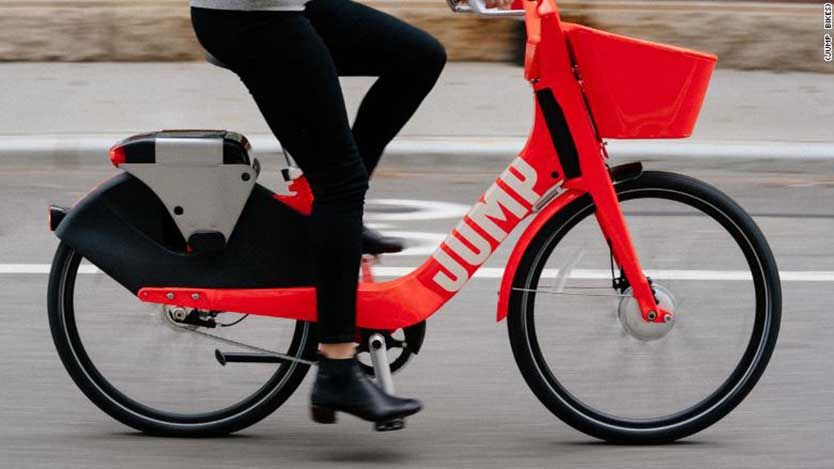 Jump Bikes The Guide To The Electric Bike Share Service A Brooklyn Based Startup Founded In 2010 Jump Bikes Was The Electric Bike Electric Bicycle Bike Share