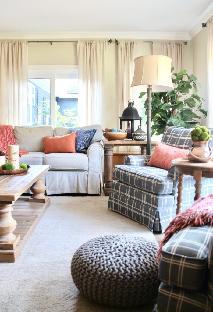 Decorating For Fall 7 Easy Tips To Creating A Rich Inviting Home Living Room Colors Neutral Living Room Inviting Home