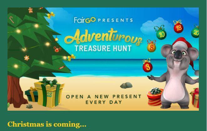 Fair Go casino Xmas bonuses. Advent Calendar bonus offers