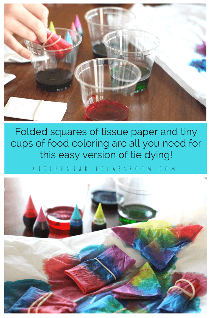 f7370a97f1fd Tie Dye with Tissue Paper- Easy