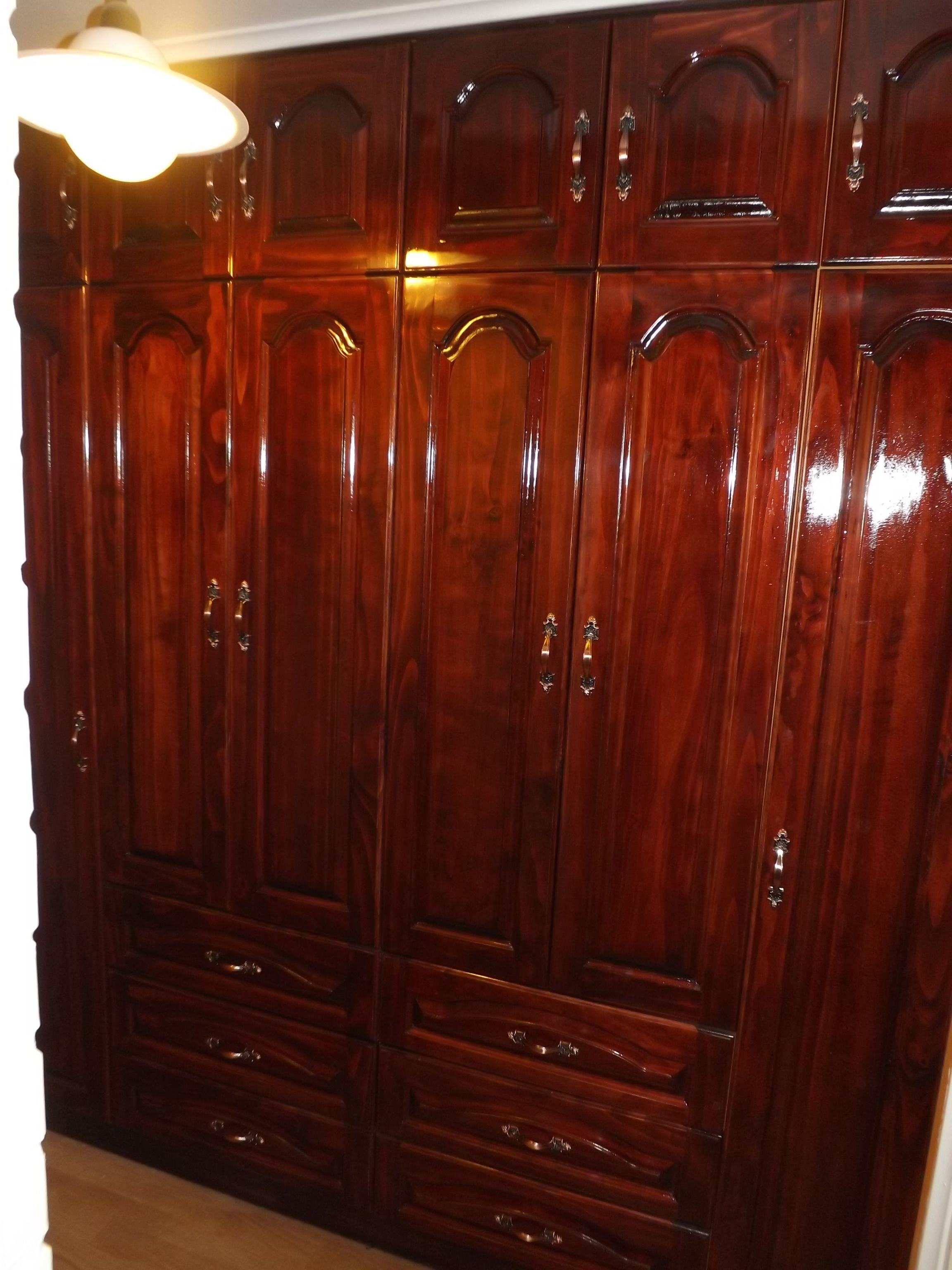 Closet Fabricado En Madera De Pino Radiata Con Terminacion  # Muebles Ricardo Montes