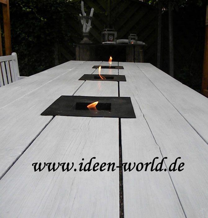Gartentische / Tische - http://www.holz-lounge-möbel.de ...