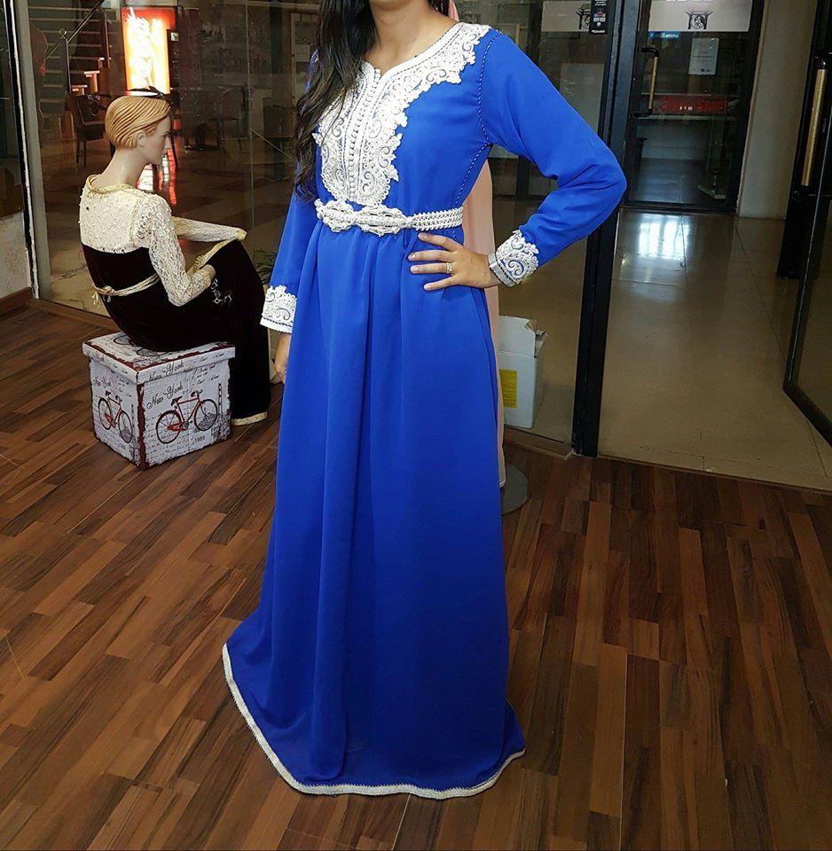 فساتين قفطان مغربي 2018 مصممة بأرقى ماركات صور بنات 2018 مغربية Fashion Prom Dresses Dresses