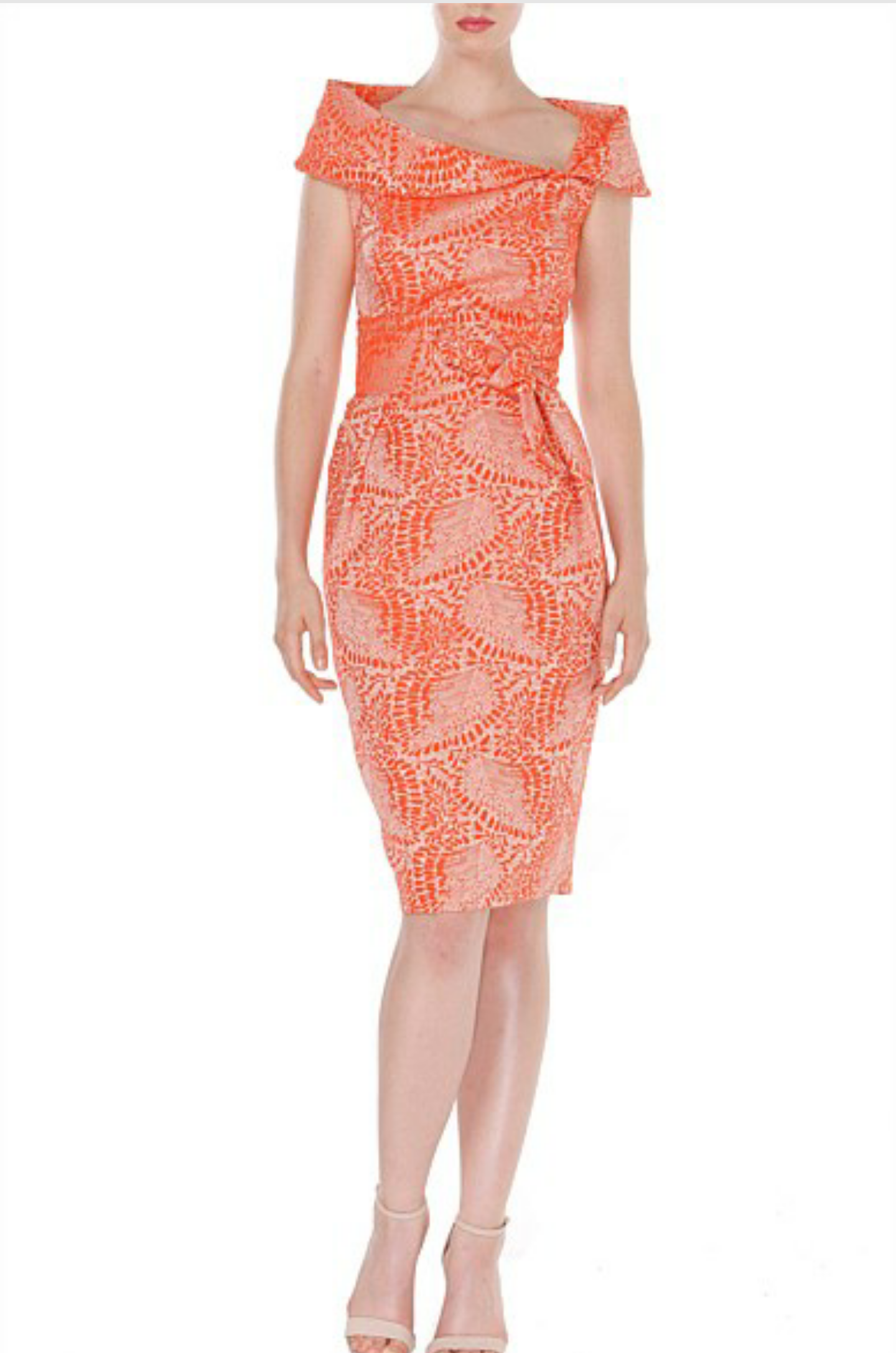 Tangerine Dress Available At Aspirations Race Day