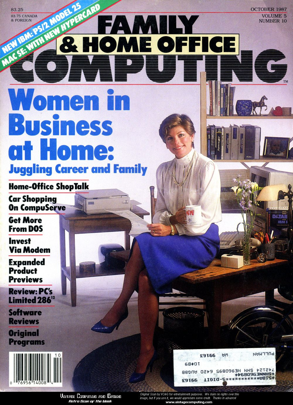 home office magazine. Family \u0026 Home Office Magazine October 1987 O