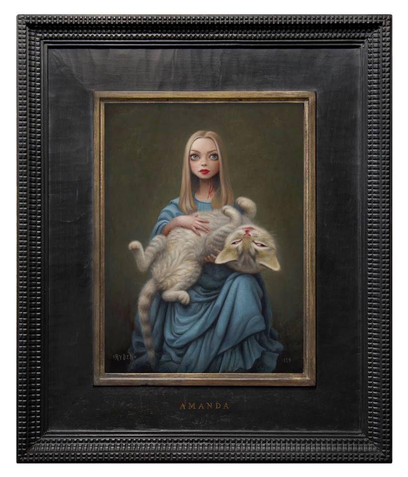 Mark ryden cat art art art show