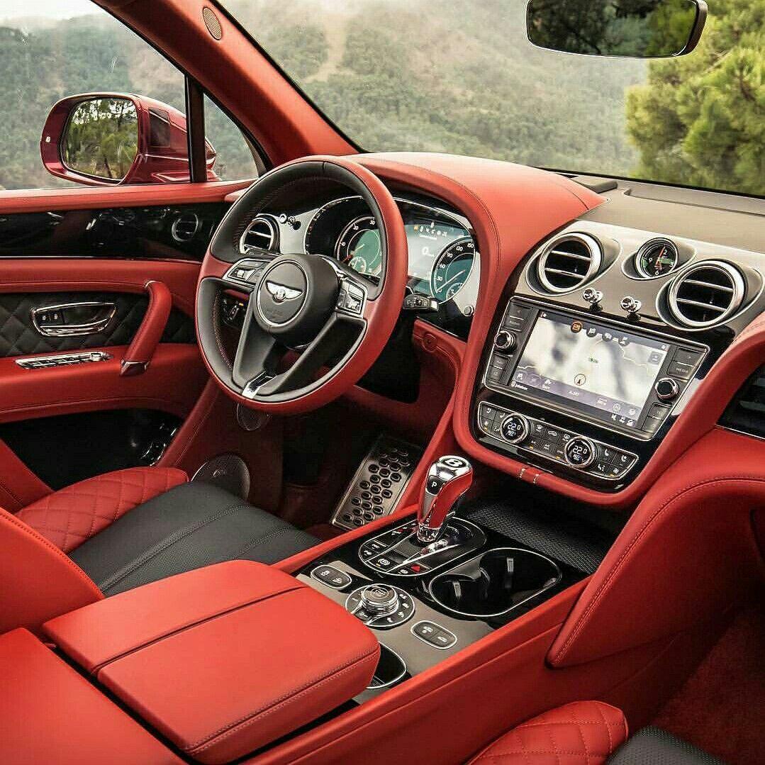 Bentley Interior Luxury Car: One Slick Interior! #Beauty #Style #Power #Performance