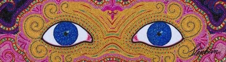 Galeria Alegria Mardi Gras Bead Mosaics