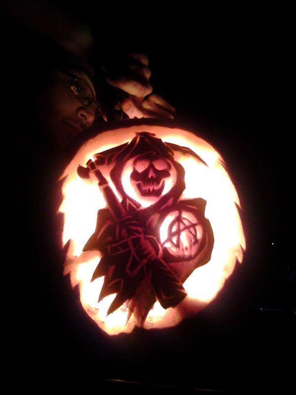 Sons Of Anarchy Halloween Reaper Pumpkin Carving Sons Of Anarchy