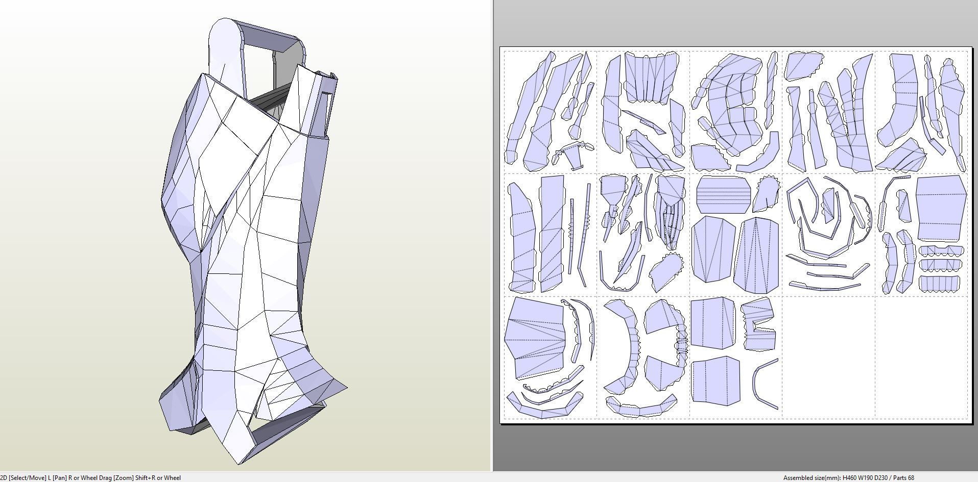 Papercraft Pdo File Template For Iron Man Mk7 Full Armor Iron Man Fan Art Iron Man Art Iron Man Cosplay